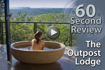 60 Second Review video: The Outpost in Kruger, South Africa