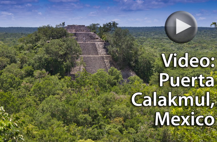 (click to play) Video Review: Hotel Puerta Calakmul, Mexico