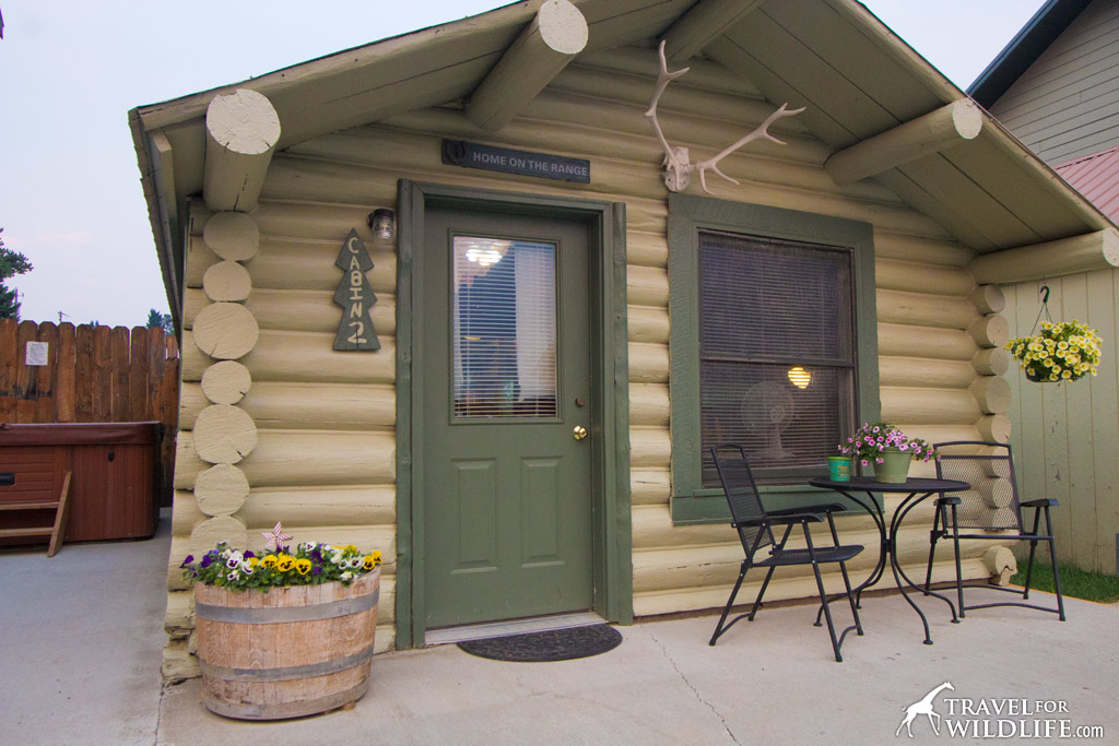 "Get your own private cabin in ""downtown"" Cooke City at the Elk Horn Lodge"