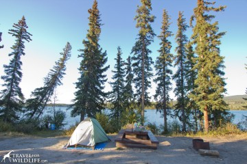 One Eye Lake Recreation site in BC